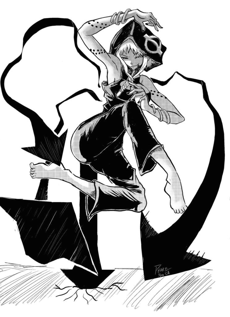 Anime Villain Drawing 30 Day Anime Challenge Day 9 Best Anime Villain Medusa From soul