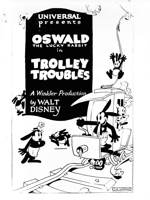 Cartoon Drawing Definition Oswald the Lucky Rabbit Wikiwand