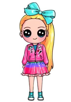 Cute Drawing Jojo Siwa Pin Od Marta sobkowiak Na Rysunkowe Cute Drawings Jojo Siwa I Kawaii