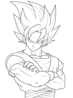 Dragon Ball Z Drawing Book Goku Drawings Pencil Pic 23 Drawing and Coloring for Kids