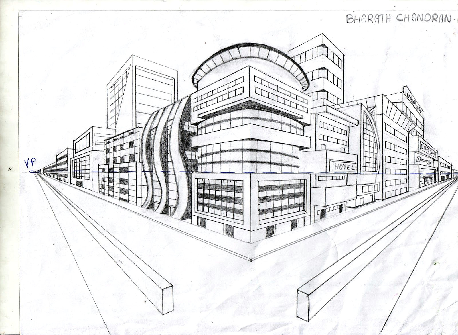 Drawing 2 Point Perspective Room Pin by Bridget Jane On School Two Point Perspective Point