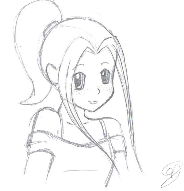 Drawing A Anime Girl Step by Step Image Result for How to Draw A Sketch with Pencil Easily Drawing