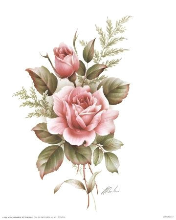 Drawing A Pink Rose Another Flower Tattoo I Really Love How Everything is Dead In Black