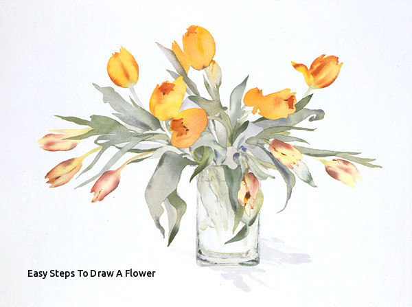 Drawing A Rose Vase Easy Steps to Draw A Flower Vase Art Drawings How to Draw A Vase