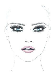Drawing An Eye with Makeup 73 Best Makeup Sketches Images Makeup Inspo Mac Face Charts Mac