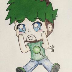 Drawing Anime Jacksepticeye 25 Best My Drawings Images My Drawings Anime Chibi Art Ideas
