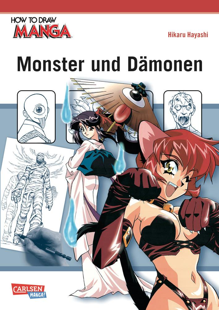 Drawing Anime Monsters How to Draw Manga Monster Und Damonen Hikaru Hayashi Modern