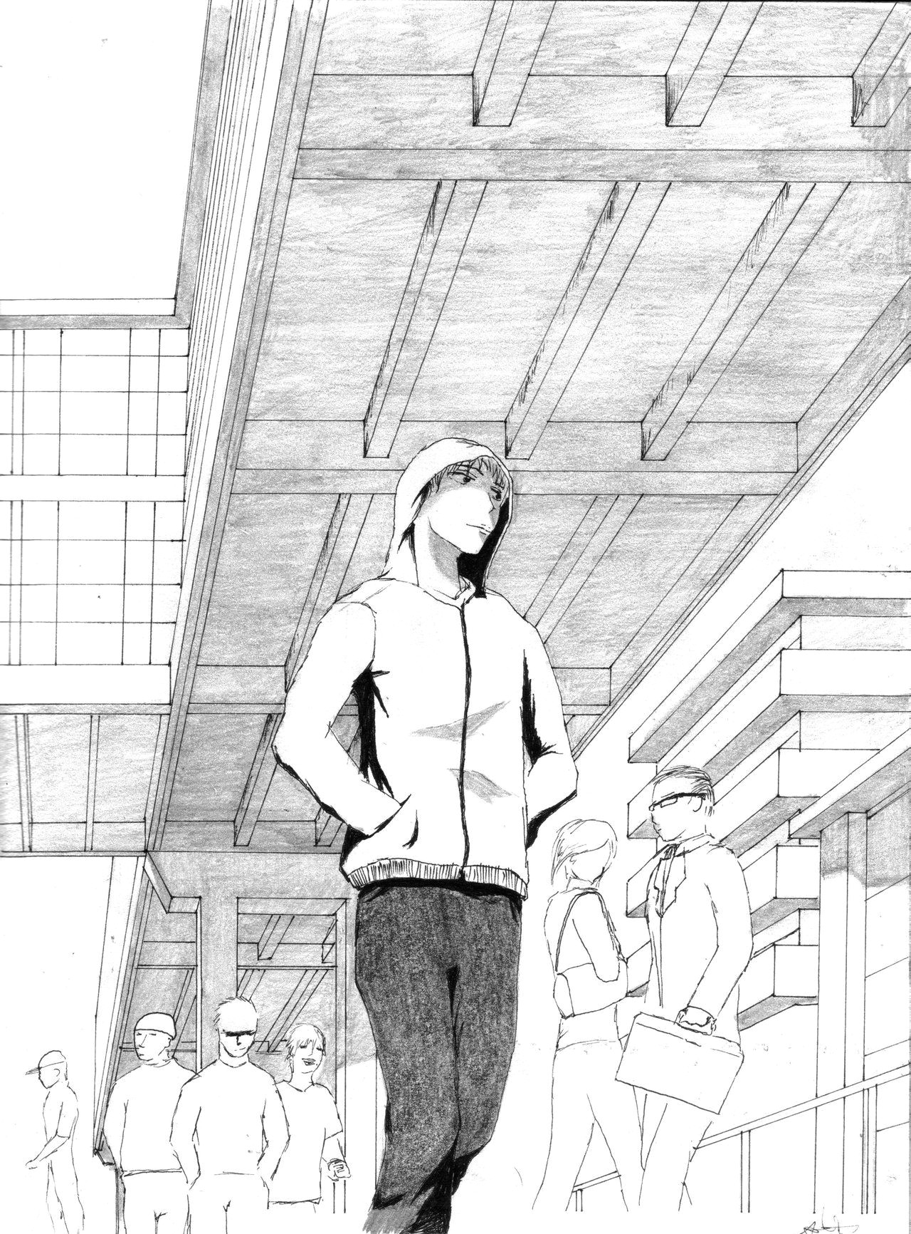 Drawing Anime Perspective Sketch Perspective Drawing Google Search Perspective Drawings