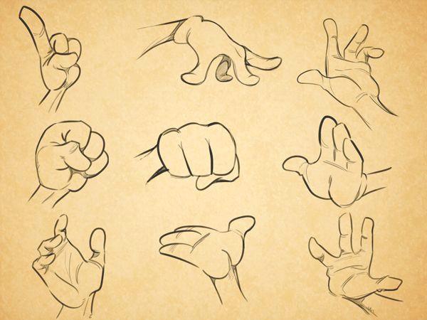 Drawing Cartoon Hands and Feet Cartoon Fundamentals How to Draw Cartoon Hands Art Pinterest