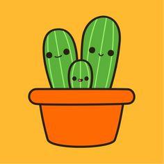 Drawing Cute Succulents 31 Best Cute Lil Cacti Images Kawaii Drawings Cactus Plants