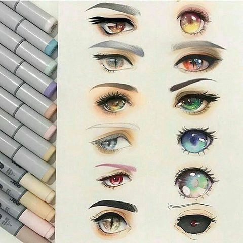 Drawing Different Eye Shapes Eye Shapes and Colors the First Thing I thought Was Wow that