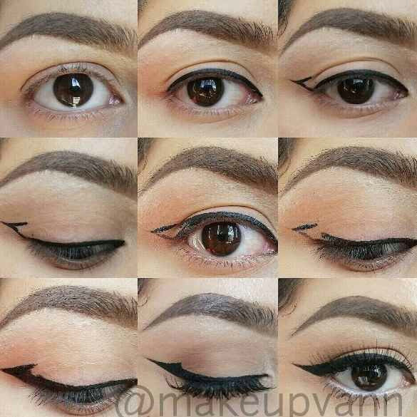 Drawing Droopy Eyes 11 Glam Af Makeup Tips for People with Hooded Eyes Eye Makeup