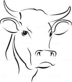 Drawing Easy Cow 46 Best Cow Drawing Easy Images Painting On Fabric Farmhouse