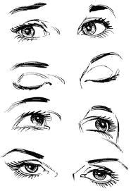 Drawing Eye Position Closed Eyes Drawing Google Search Don T Look Back You Re Not