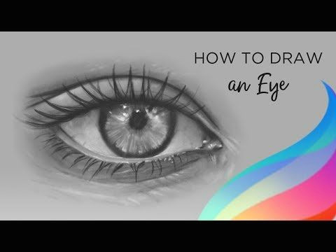 Drawing Eyes On Procreate How to Draw An Eye Procreate Tutorial Youtube Apple Ipad Pro