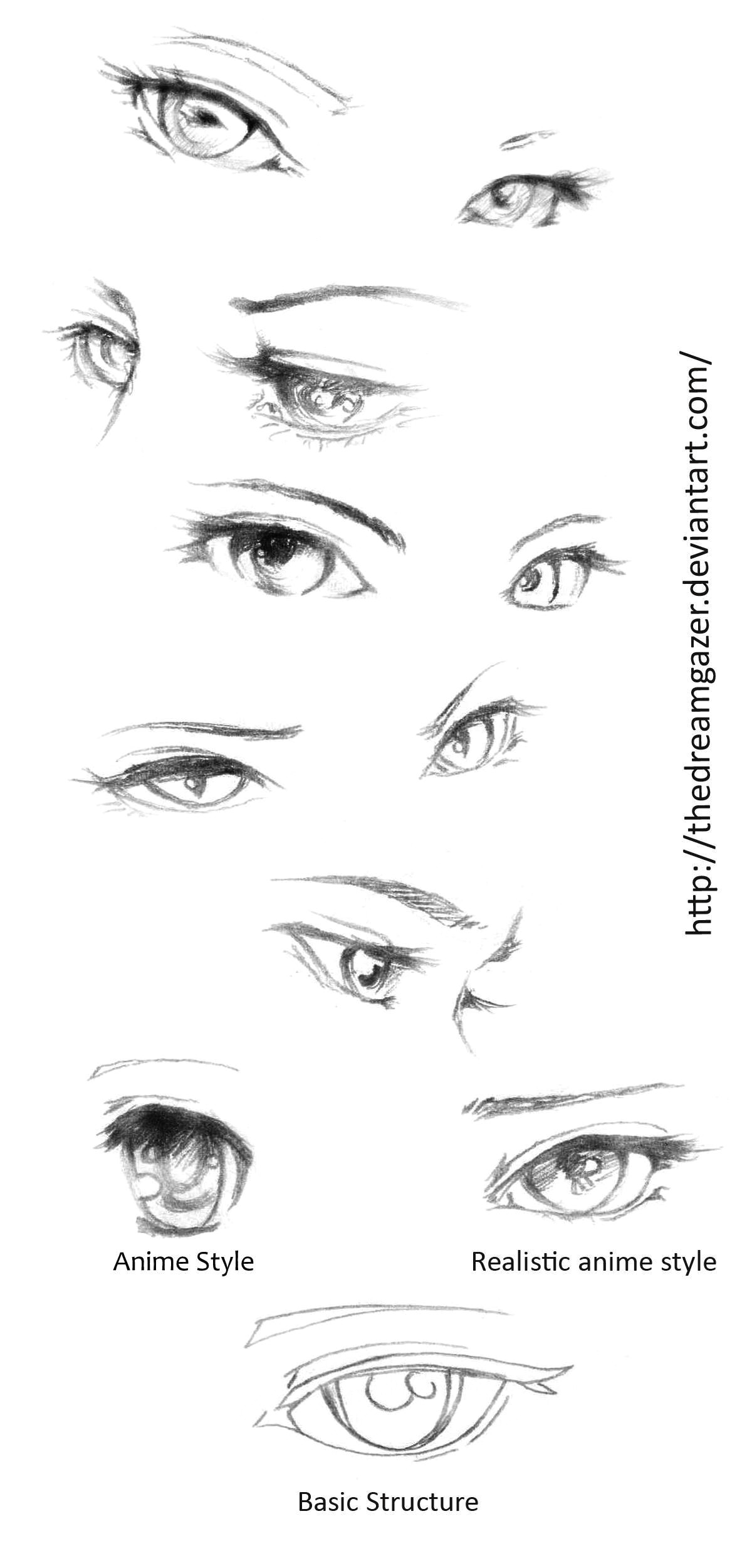 Drawing Eyes Tutorial Anime Pin by Aiman Kishan On Eye Dessin Dessin Manga Dessin Realiste