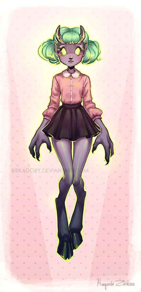 Drawing Girl Demon Resultado De Imagen De Demon Girl Art Digital Art Demon Girl