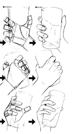 Drawing Hands Perspective How to Draw Hand Holding Sword How to Draw and Paint Tutorials