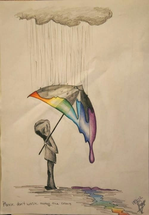 Drawing Ideas Umbrella Im Not Really Sure why I Like these Sad Little Drawings Haha
