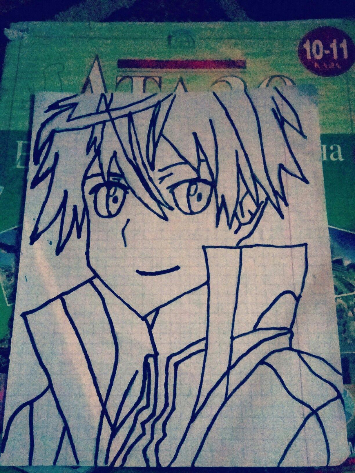 Drawing Japan Cartoon Sword Art Online Kirito Japan Anime Drawings Pinterest Sword
