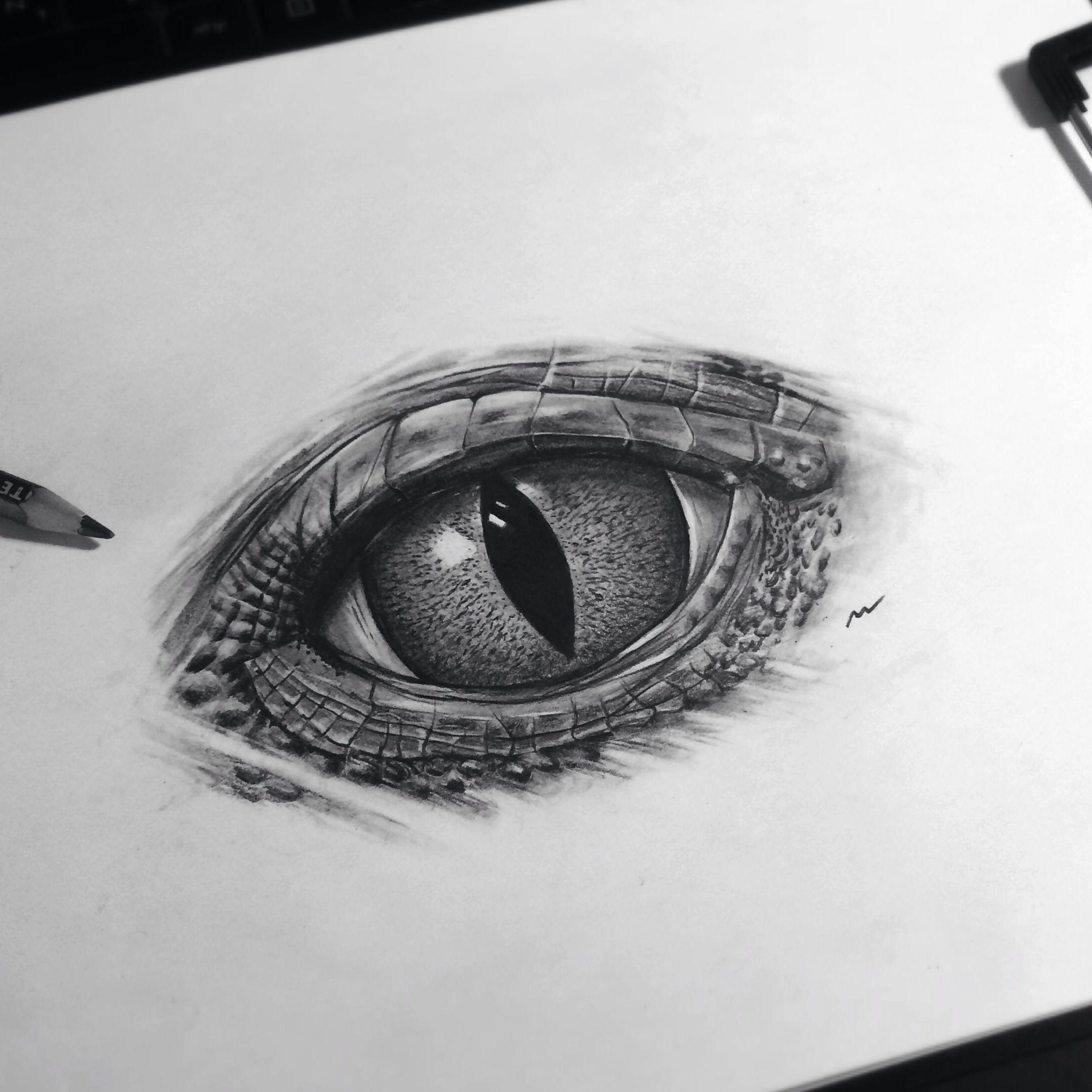 Drawing Lizard Eye New Realistic Eye Reptile Reptileeye Art Artwork Painting