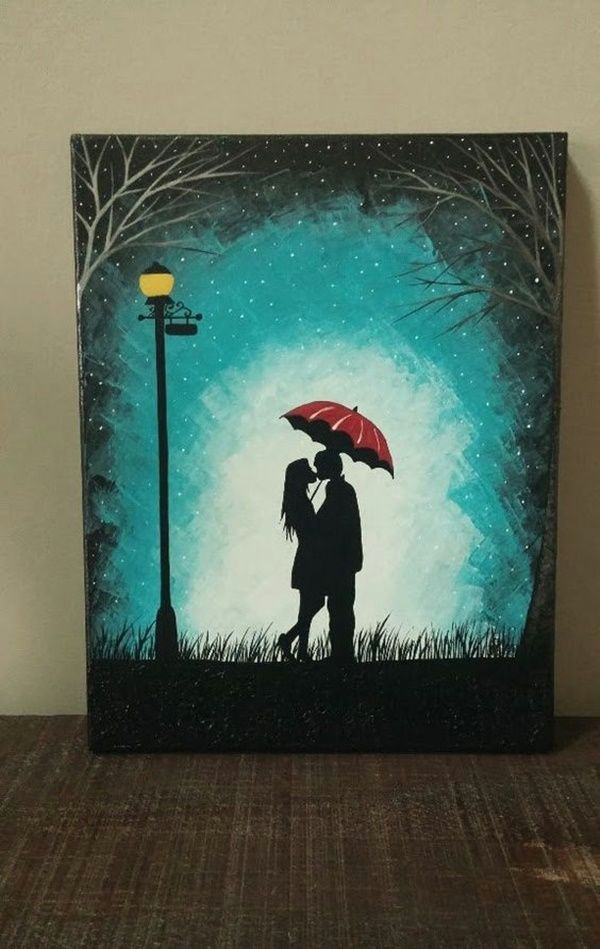 Drawing N Painting Ideas 40 Easy Canvas Painting Ideas for Art Lovers Art Pinterest