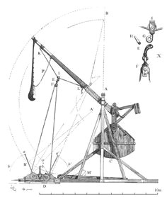 Drawing Of A Catapult 49 Best Trebuchet and Catapult Images Catapult Wooden toy Plans