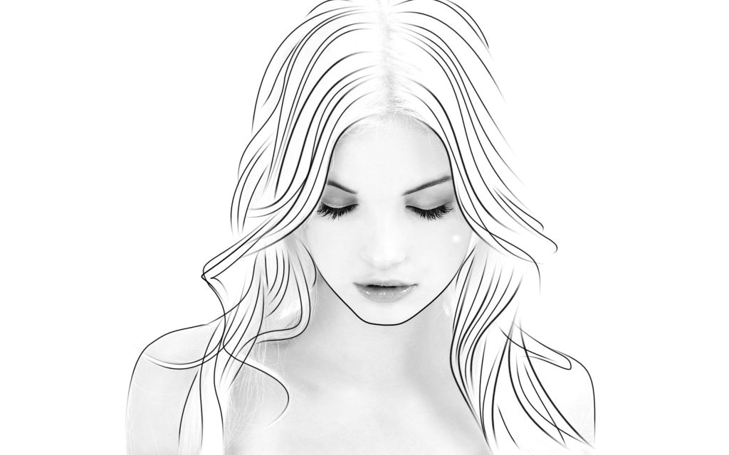 Drawing Of A Girl Looking Down Drawing Face Looking Down to the Girl who Never Feels Good Enough