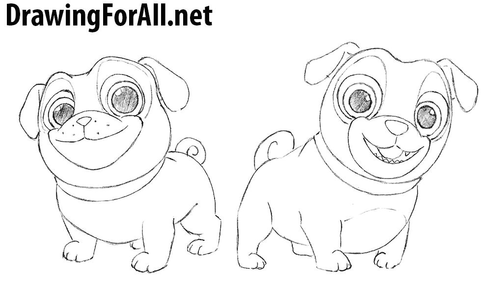 Drawing Of A Puppy Dog How to Draw Puppy Dog Pals Birthday Drawings Dogs Puppies Puppies