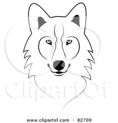 Drawing Of A Wolf Simple How to Draw A Wolf Face Google Search Wolves Drawings Art