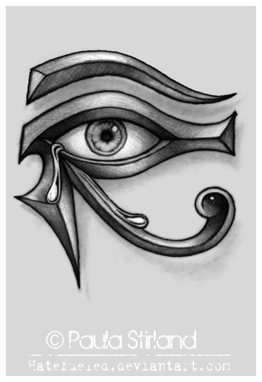 Drawing Of Egyptian Eye Crying Eye Of Ra by Hatefueled Deviantart Com On Deviantart