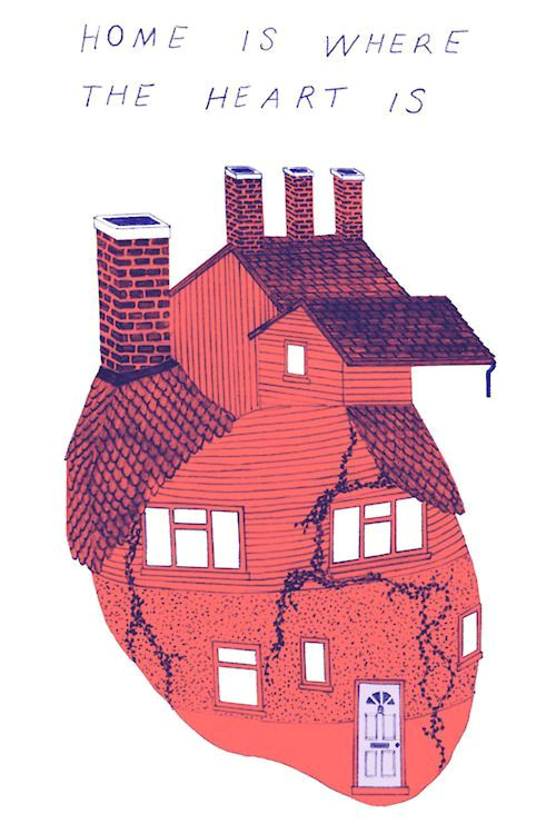 Drawing Of Heart House Pin by Jennifer Wester On Heart Pinterest Art Illustration Art