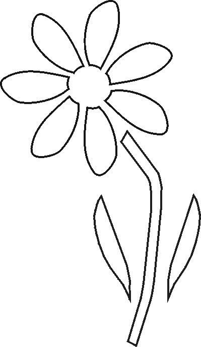Drawing Stencil Flowers Free Stencils Collection Flower Stencils Stencils Pinterest
