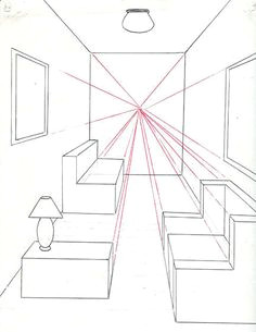 Drawing Things In Perspective 70 Best 1 Point Perspective Room Images Art Education Lessons