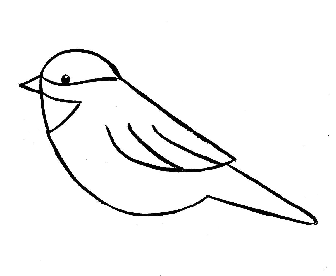 Drawings Easy Method How to Draw A Bird Step by Step Easy with Pictures Birds