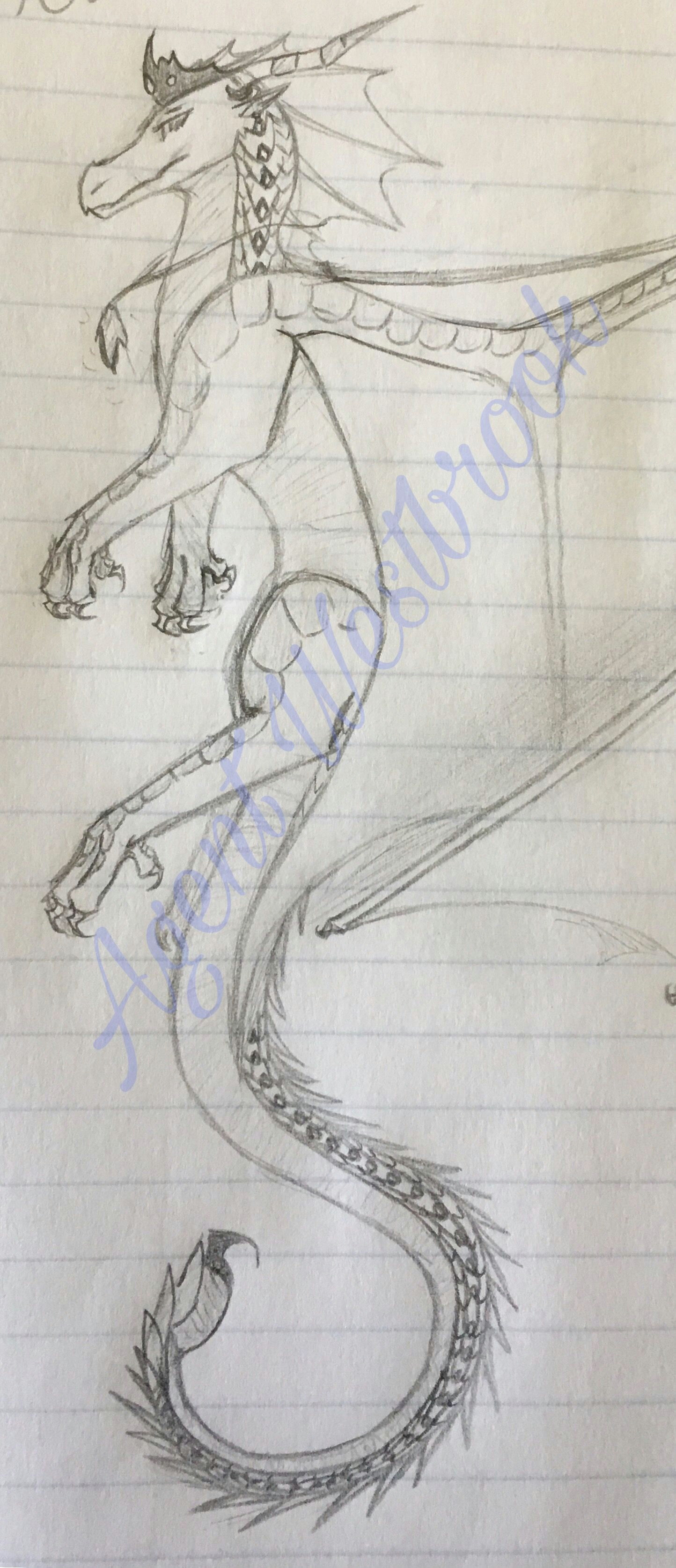 Drawings Of Dragons Full Body Queen Supernova Of the Spacewings for the Drawing Contest I M