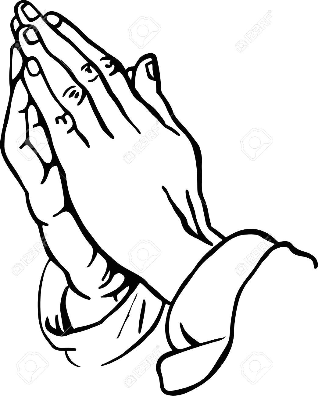 Drawings Of Prayer Hands Praying Hands Clipart Craft Ideas Pinterest Praying Hands