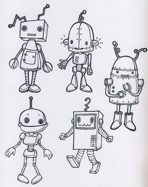Drawings Of Robot Hands Da Colorare Lessons 3 5 Pinterest Drawings Robot and Robot Art