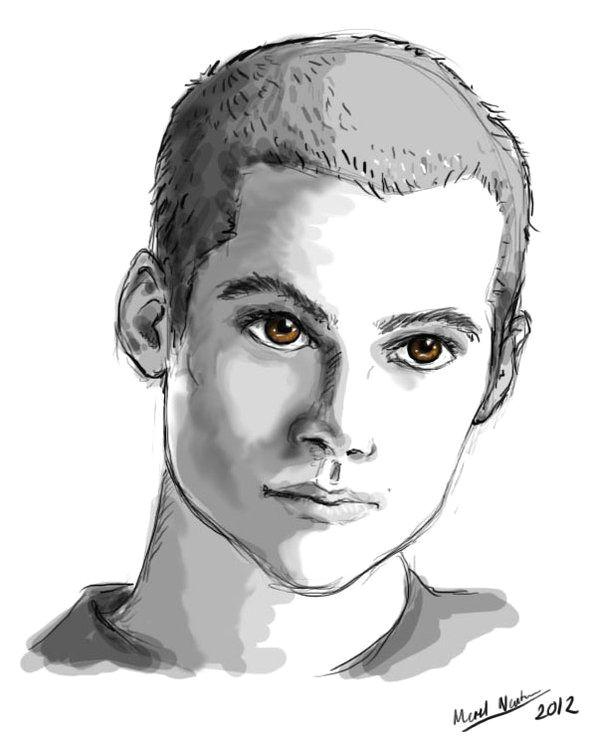 Dylan O Brien Cartoon Drawing when You Re Going Through Hell by Blackbirdrose Deviantart Com On
