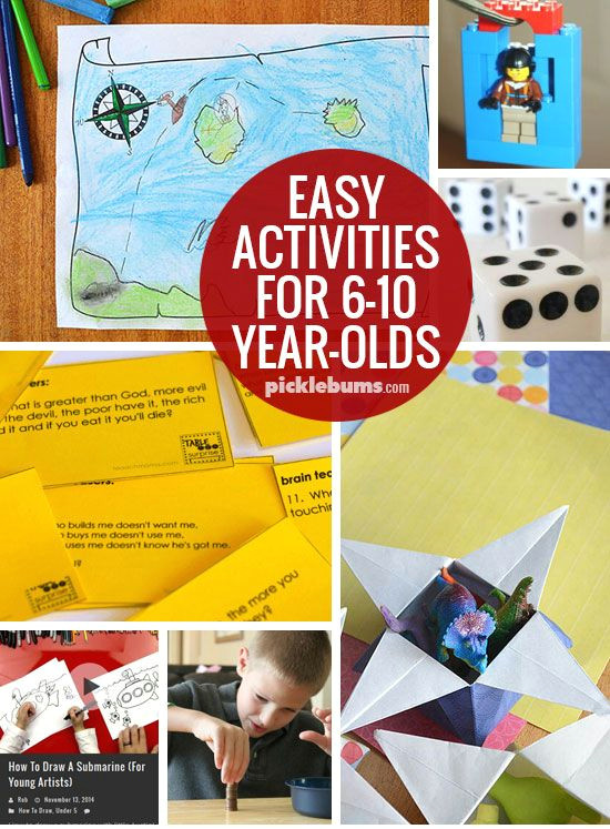 Easy 5 Year Old Drawings Ten Easy Activities for 6 10 Year Olds Fun Activities to Do with