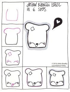Easy Drawings for Grade 6 56 Best Stey by Step Drawing Tutorials for Kids Images Drawing