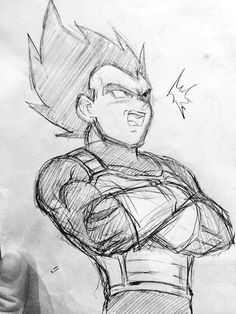 Easy Drawings Goku Goku Drawings Pencil Pic 23 Drawing and Coloring for Kids
