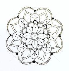 Easy Drawings Mandala 468 Best Draw Images Doodles Sketchbooks Zentangle Patterns