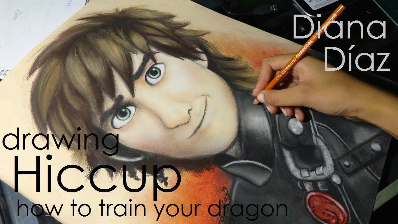 Speed Drawings Of Dragons Speed Drawing Hiccup How to Train Your Dragon Diana Da Az 3 3