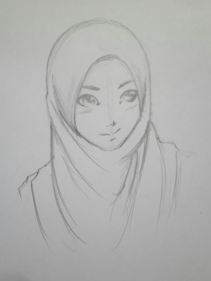 Tumblr Drawing Hijab Hijab Drawing Hijab Style 1 by Himawarinana On Deviantart My
