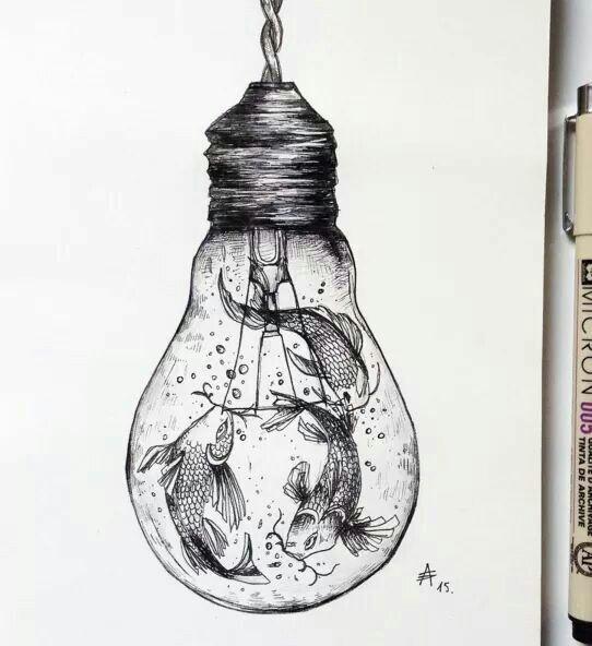 Tumblr Drawing Lightbulb Noelito Flow Art Pinterest Drawings Art Drawings and Art