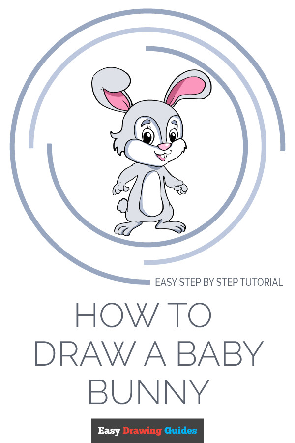 Bunny Easy Drawing How to Draw A Baby Bunny Easy Drawing Tutorials Ideas by