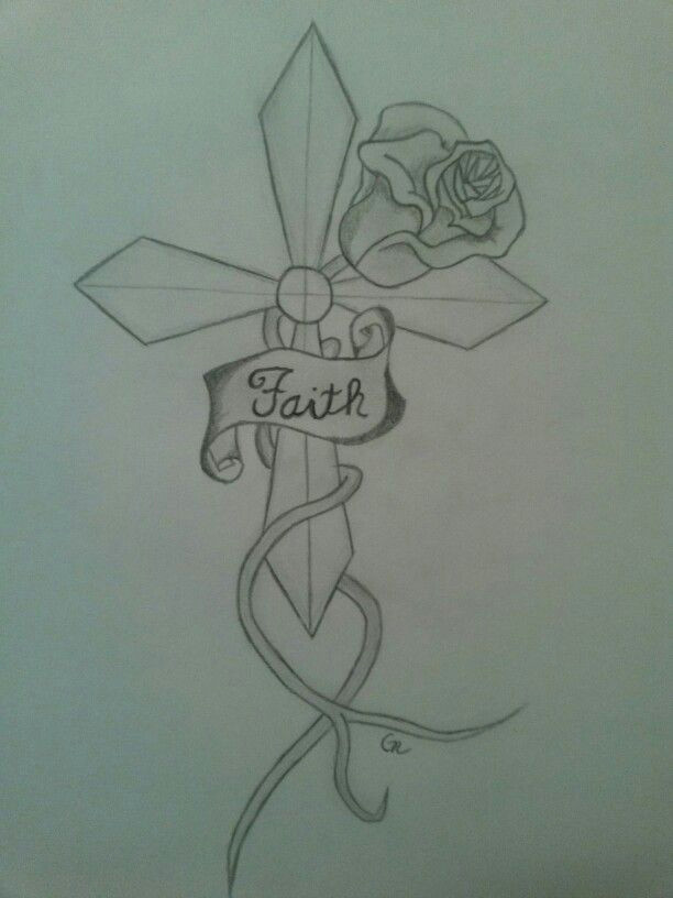Cross Drawing Ideas Drawing Cross Faith Ross Sketch Sketches Drawings Faith