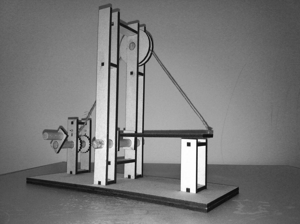 Easy to Draw Bridge the Medieval Drawbridge Simple Machine Projects Simple