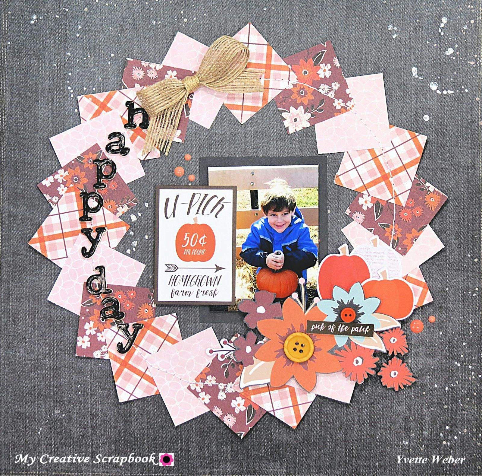 Scrapbook Drawings Ideas Happy Day Scrapbook Com Scrapbookinglayoutsnew